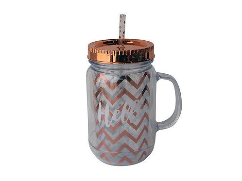 Jar Mug 450ml - Hello 22004352