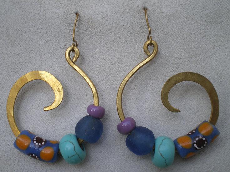 Espirales de Color en latón