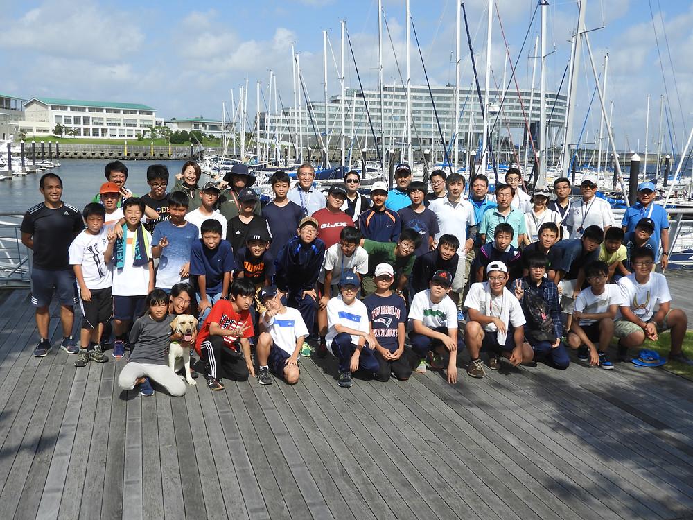 海陽学園体験乗船会を開催しました・7月1日(日)