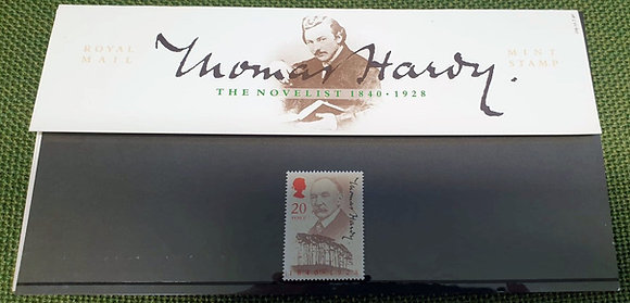 Thomas Hardy 150th Anniversary Commemorative Stamp