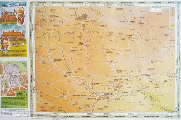 TH Mellstock and Around Map
