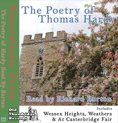 The Poetry of Thomas Hardy Read by Richard Burton