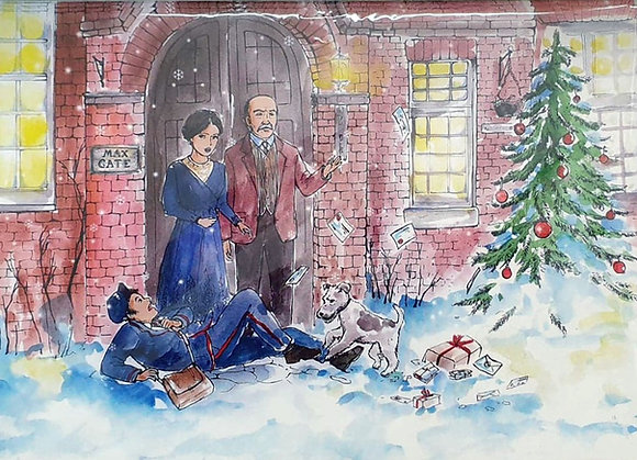 The Hardys at Christmas - Pack of 4 Cards