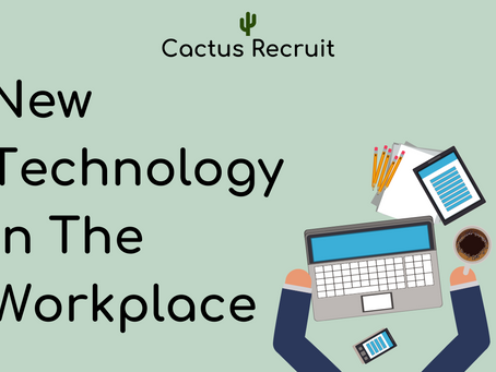 Technology in the Workplace & How to Prepare for it