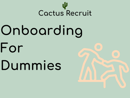 Onboarding, what is it, and why is it important?