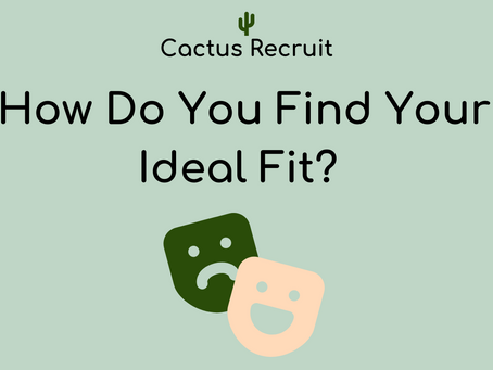 Workplace Culture; How Do You Find Your Ideal Fit?