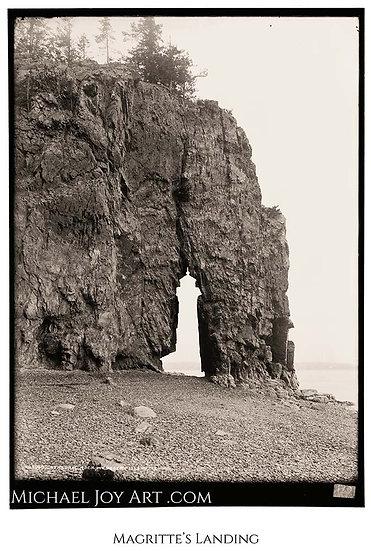 Magritte's Landing