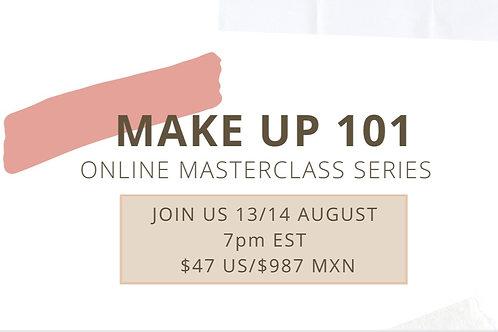 Make Up 101, Online Class Series