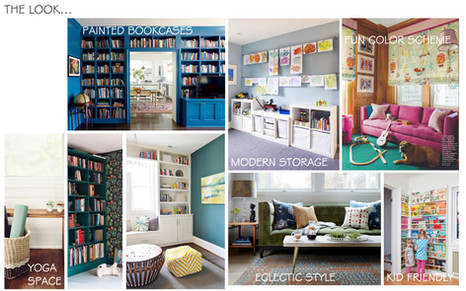 Recreation Room Inspiration Board