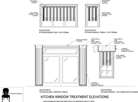 Window Treatment Sketch