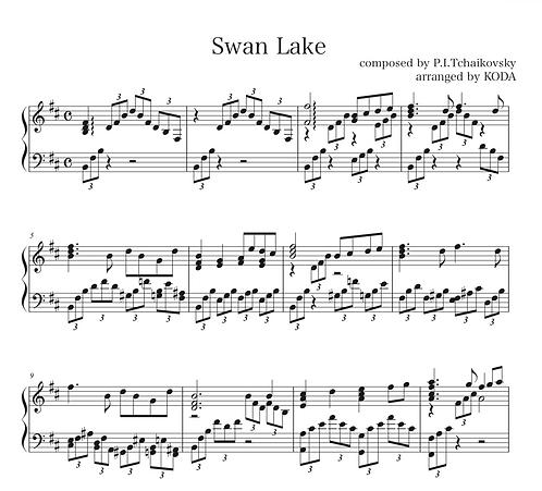 白鳥の湖 Swan Lake
