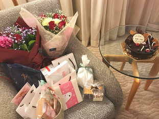 Presents & flowers from my fans!
