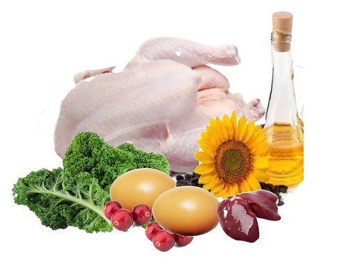 Chicken Blend, 16 Lbs (8 x 2 Lbs. rolls)