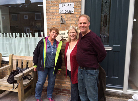 A very special visit with Break of Dawn in Holland