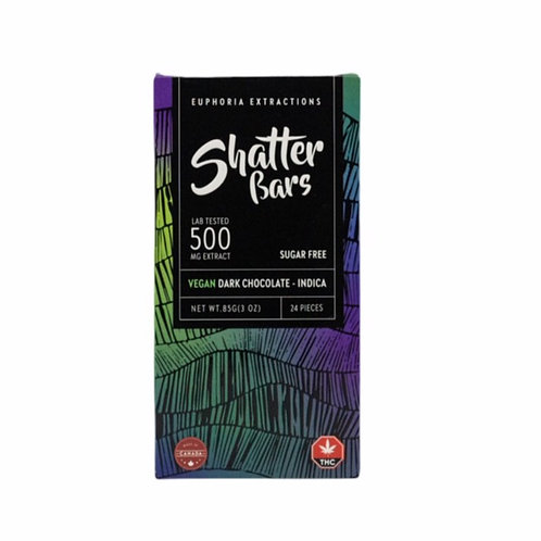 DARK CHOCOLATE SHATTER BAR (INDICA / 500MG)
