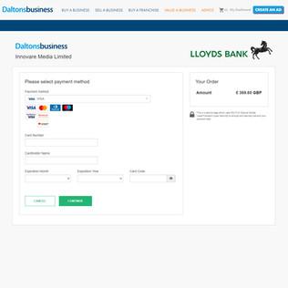Lloyds Bank Payment Portal Integration