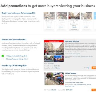 Adding promotions