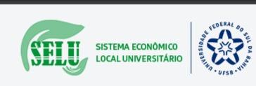 Projeto de extensão: Sistema Econômico Local Universitário (SELU)