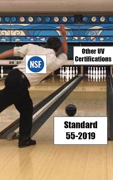 NSF 55 Standard for UV disinfection