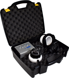 Uv Dose Research tool in carry case