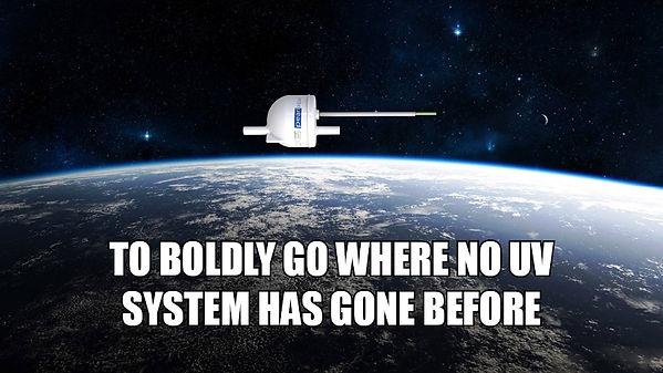 UV LED in SPACE