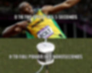 Bolt Olympic Meme - Bolt: Top speed in 6.5 seconds. PearlAqua: Full Power in 9 nanoseconds