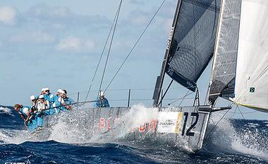 racing sail boat