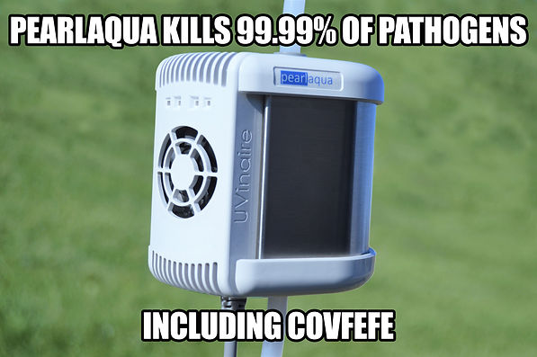 covfefe meme - uv-c leds kill pathogens