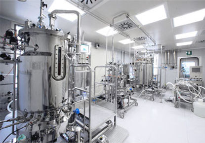 Pharmaceutical process in need of purified water