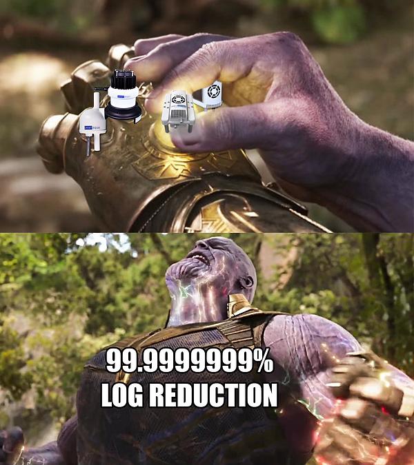 thanos UV LED meme