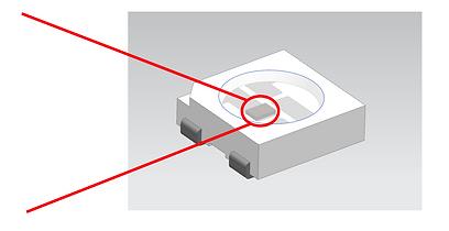 UV LED CAD drawing