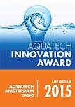Aquatech Innovation Award for 2015 - won by AquiSense's PearlAqua UV-C LED system