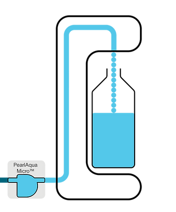 Inlet Water Dispenser Diagram lable PAQ
