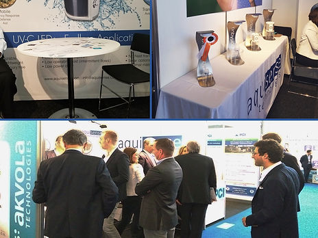 AquiSense at the Aquatech water technology show