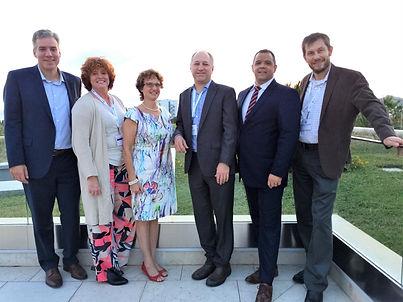 International Ultraviolet Association presidents together