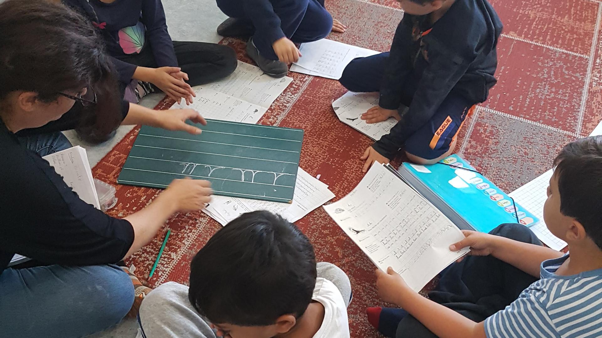 travail collectif chez les 6-12 ans