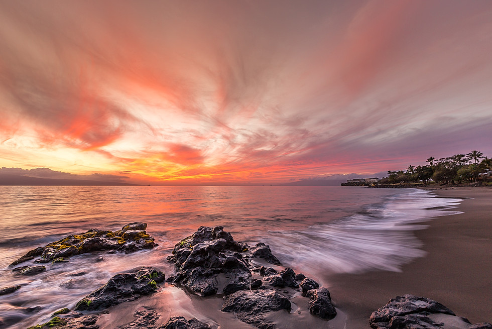 Sunset Lahaina, Maui