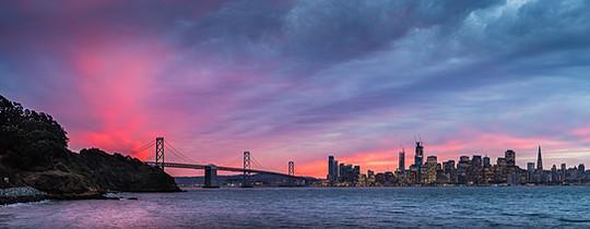 San Francisco, view from Treasure Island