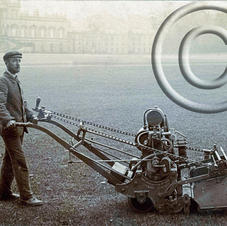 Ransomes 30in patent motor mower 1905