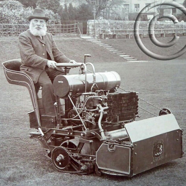 Greens Motor Mower 36in 1912