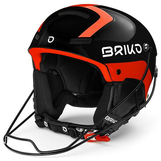 Slalom Shiny Black - Orange Fluo