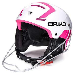 Slalom Shiny White - Pink