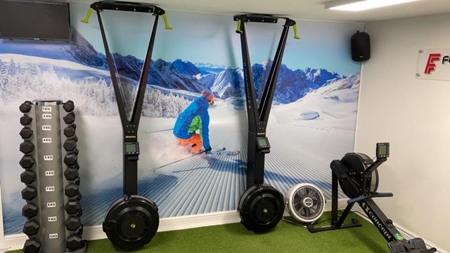 Concept 2 Skierg Machines
