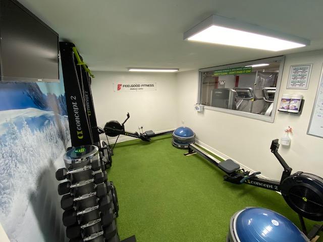 Ski/Row Room