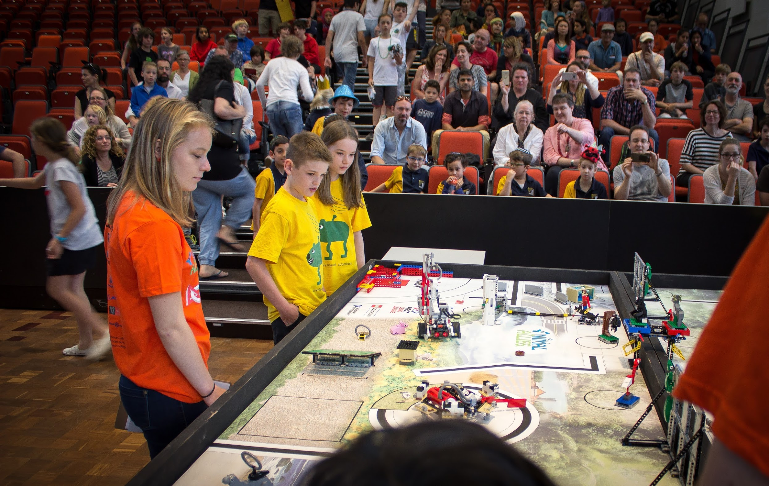 Wombats at First Lego League