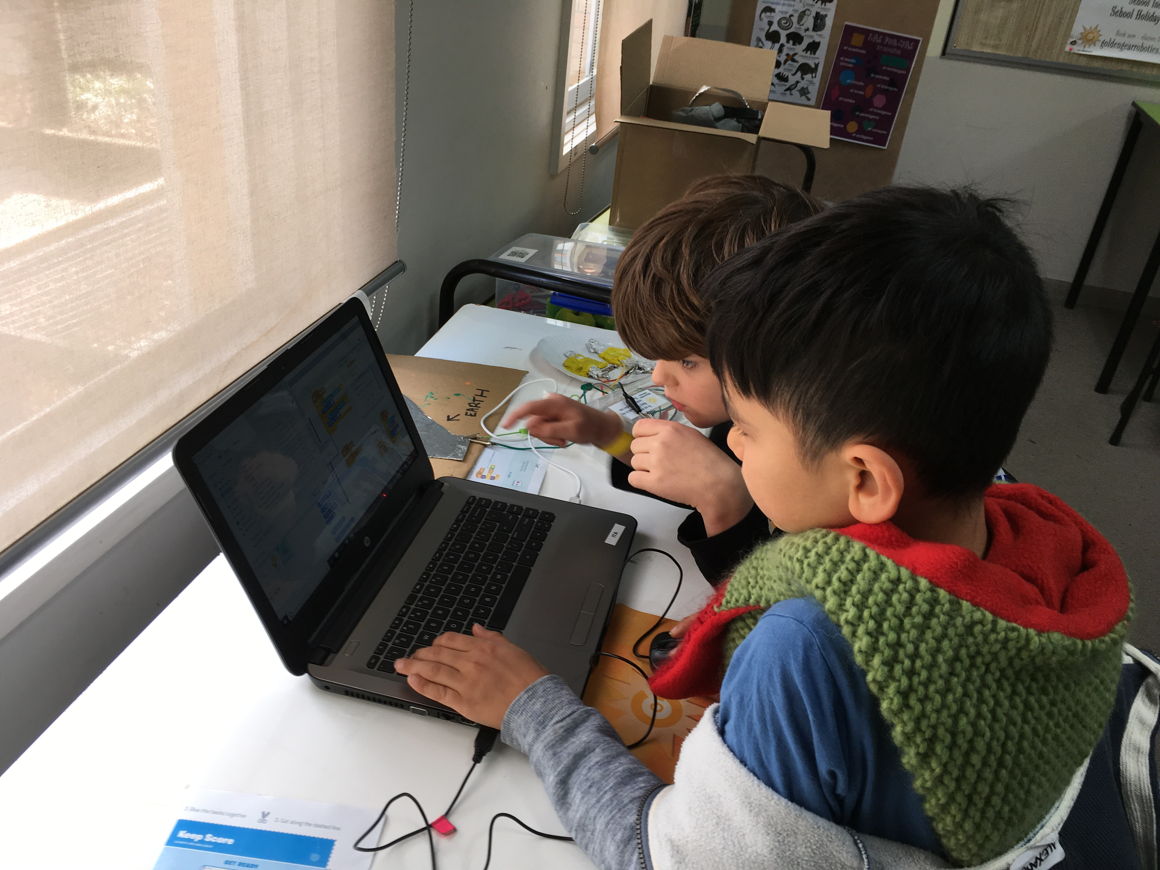 Learn to code with Scratch workshop