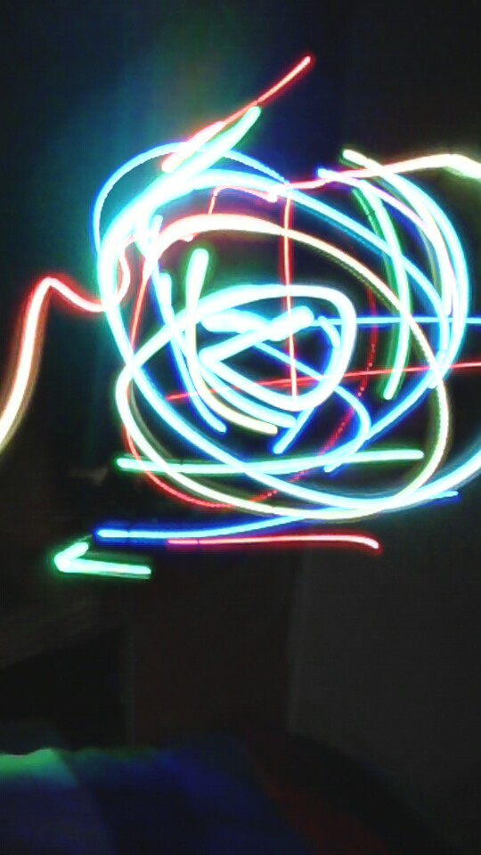 Drawing with light!