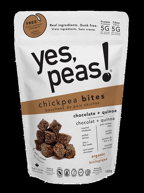 Chocolate + Quinoa Bites