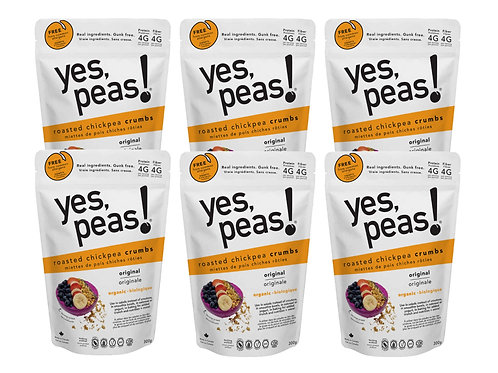 6-pack Roasted Chickpea Crumbs