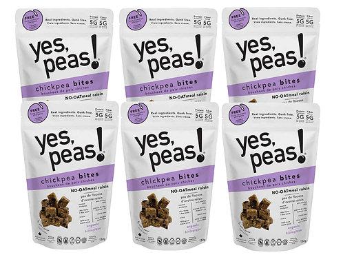 6-pack NO-OATmeal Raisin Bites